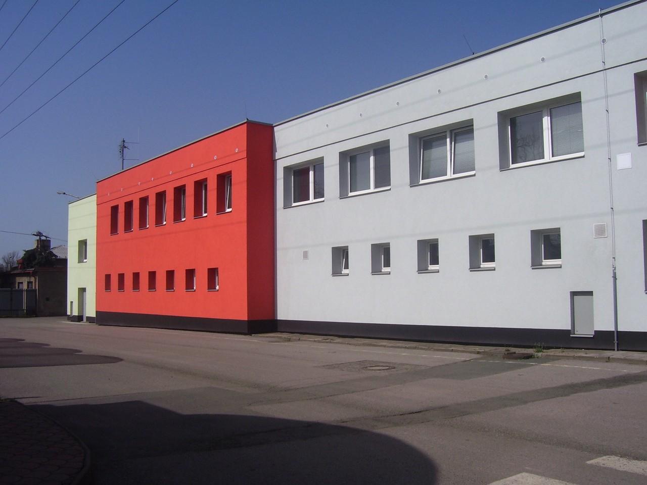 Levá část budovy Technických služeb