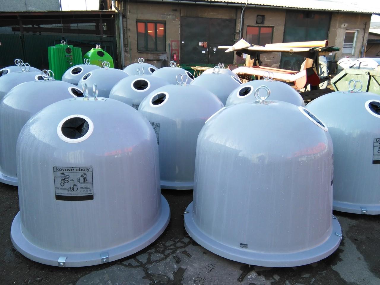 Kontejnery na kovové obaly