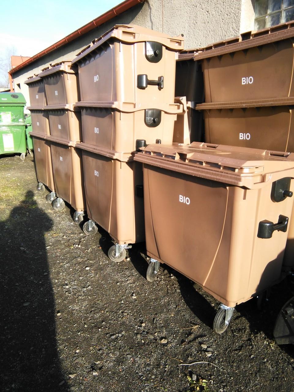 Kontejnery na biodpad