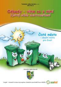 Obrázek informační brožurky o odpadech