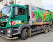 Vozidlo na svoz komunálních odpadů