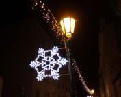vánoční výzdoba lampy
